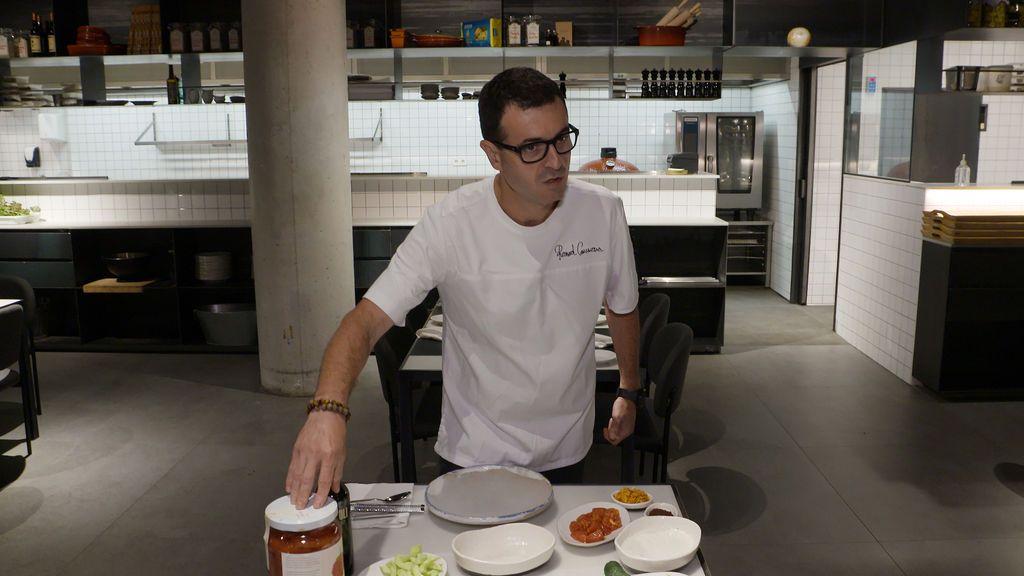 El chef Ricard Camarena.