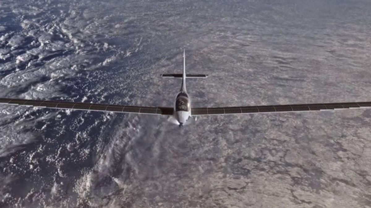 SolarStrato, el avión que se impulsa con energía solar
