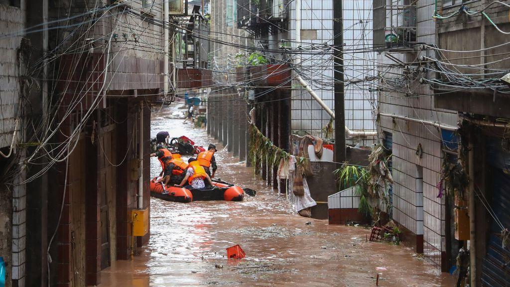 Wuhan, el origen del coronavirus, emite ahora una alerta roja por posibles inundaciones