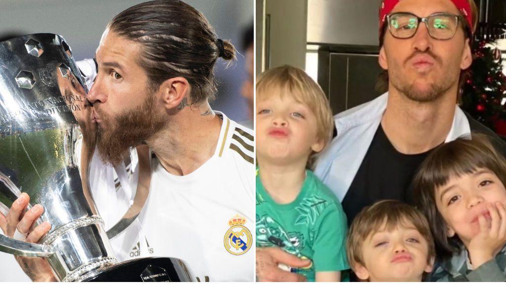 """La dedicatoria de Sergio Ramos a su mujer e hijos tras ganar la Liga: """"Este y todos los éxitos son gracias a vosotros"""""""