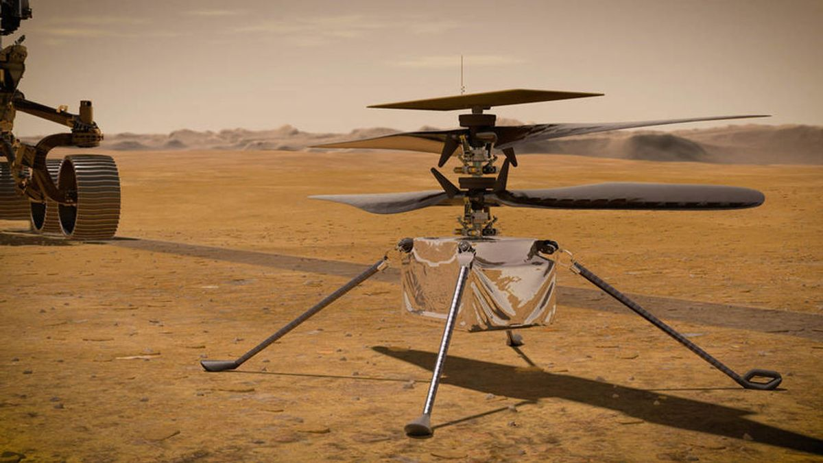 Ingenuity, el helicóptero de la NASA que llegará a Marte recorriendo 505 millones de kilómetros
