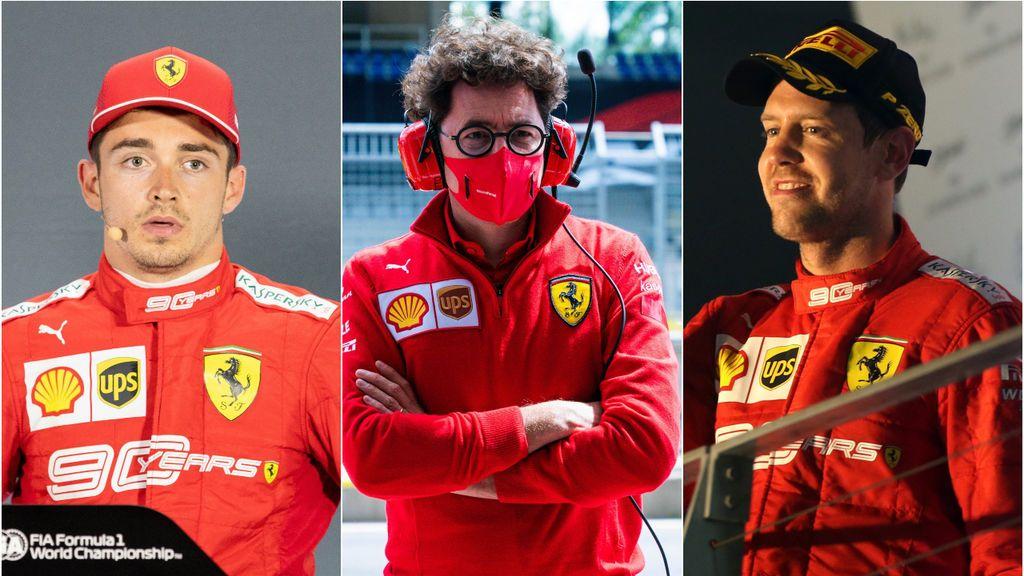 Las últimas polémicas de Ferrari: los desencuentros entre los dos pilotos y la pérdida de potencia en su motor