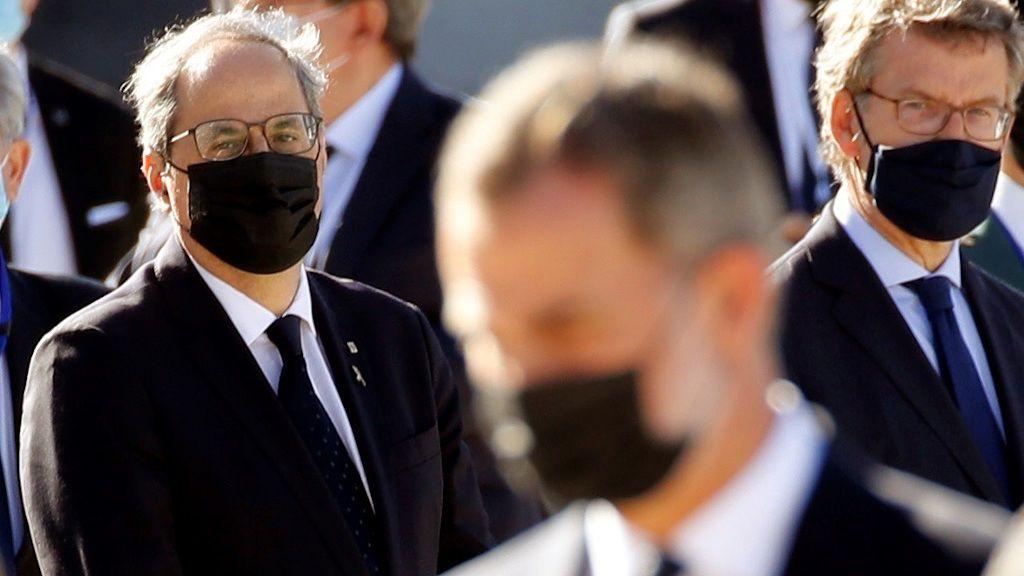 Torra pretende denunciar al Rey Juan Carlos por presunta corrupción