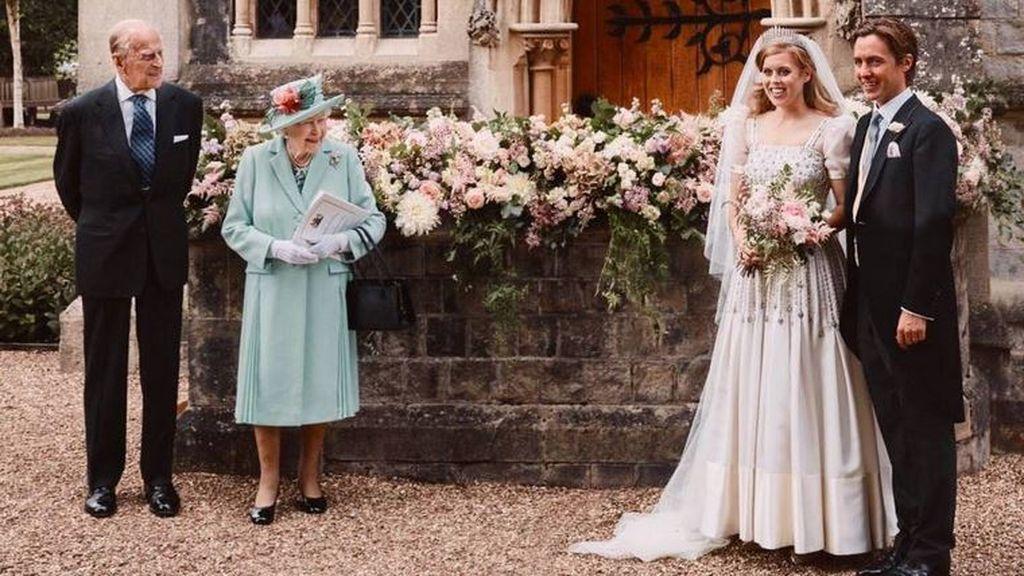 Beatriz de York y Edoardo Mapelli se casan: fotografías oficiales de su boda secreta