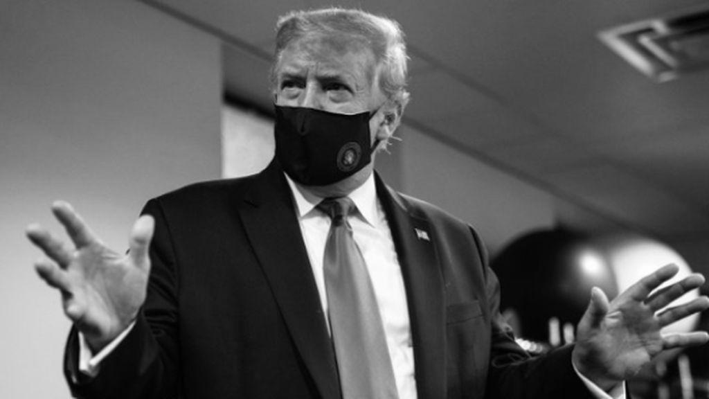 """Donald Trump: """"Llevar mascarillas es patriótico, os lo dice vuestro presidente favorito"""""""