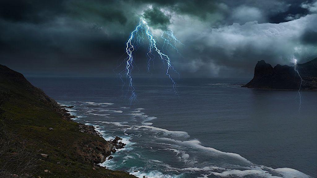 Se acerca una Dana: lluvias y rayos puntuales por las tardes para romper la calma