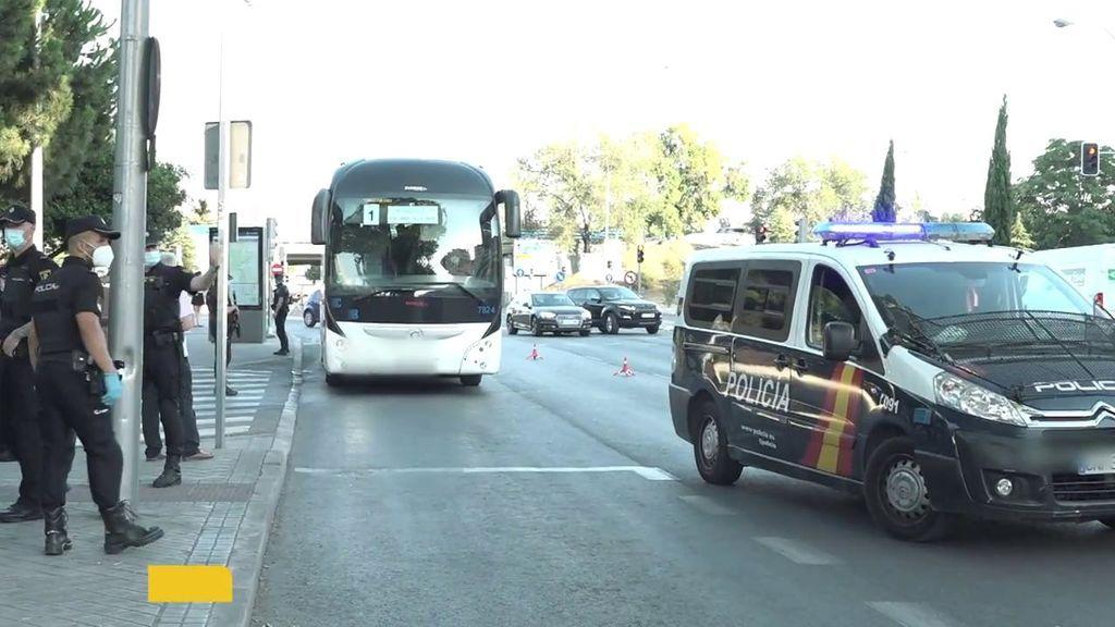 Exclusiva: el protocolo ante la llegada de un autobús con un pasajero con sítomas de coronavirus