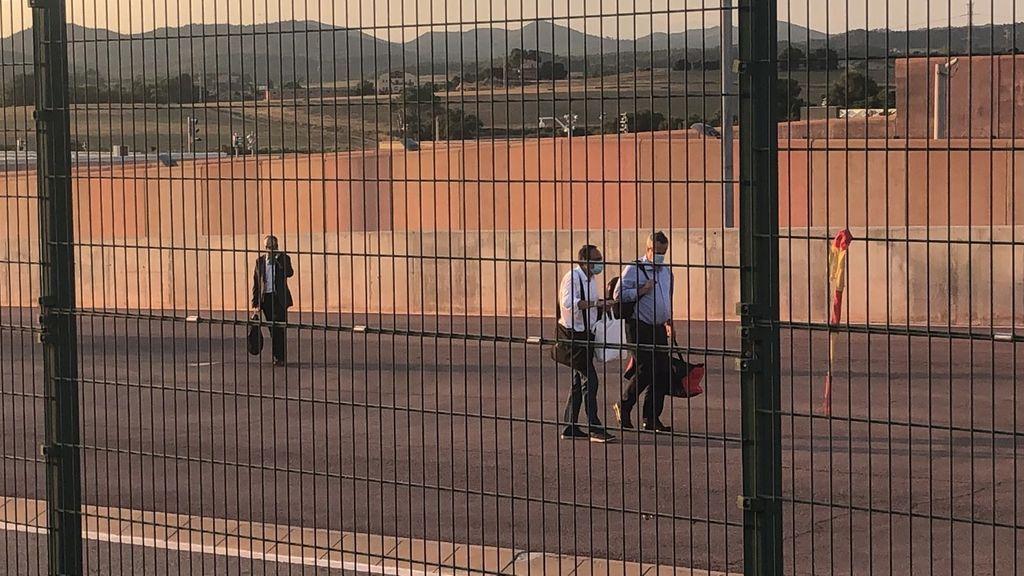 Los presos independentistas regresan a Lledoners tras su primer fin de semana en casa
