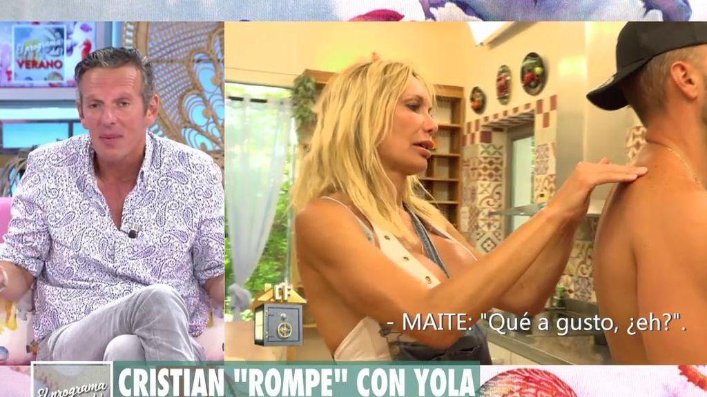 Joaquín Prat habla sobre Yola Berrocal y Cristian