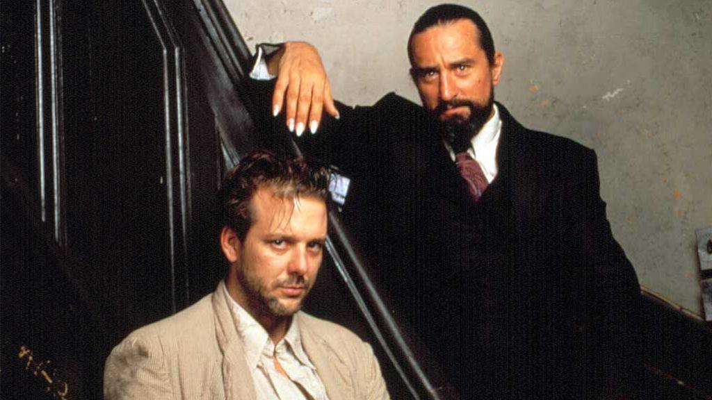 Robert de Niro y Mickey Rourke  en 'El corazón del ángel' (1987)