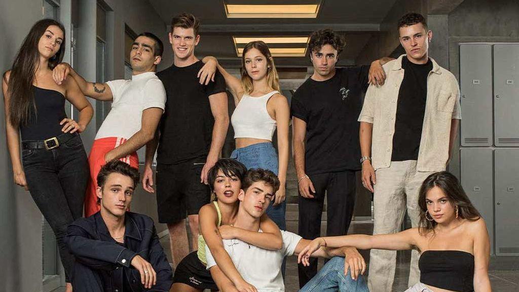Primera foto del nuevo reparto de 'Élite' (Netflix)