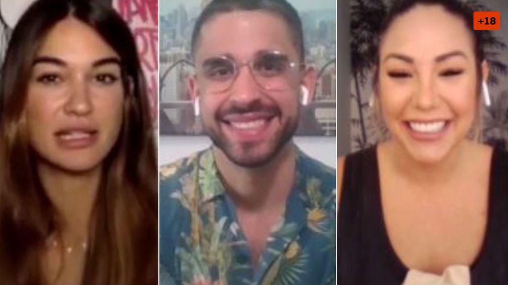 Steisy, Miguel Frigenti y Estela dan sus trucos para conseguir ligar más en Tinder (1/2)