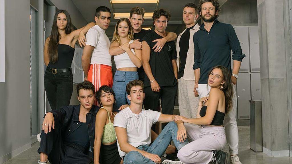 El reparto de la cuarta temporada de 'Élite'