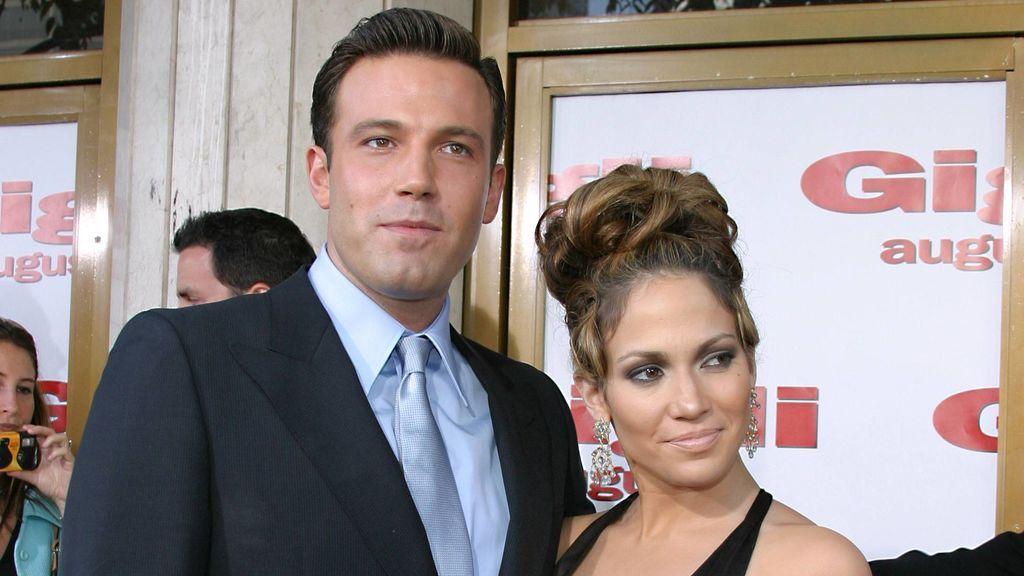 Ben y Jennifer López llegaron a comprometerse, pero la relación se rompió antes de pasar por el altar.