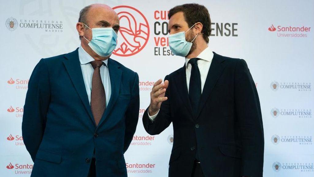 """Casado reprocha a Sánchez ir a Bruselas """"sin los deberes hechos"""" y ofrece las recetas económicas del PP"""
