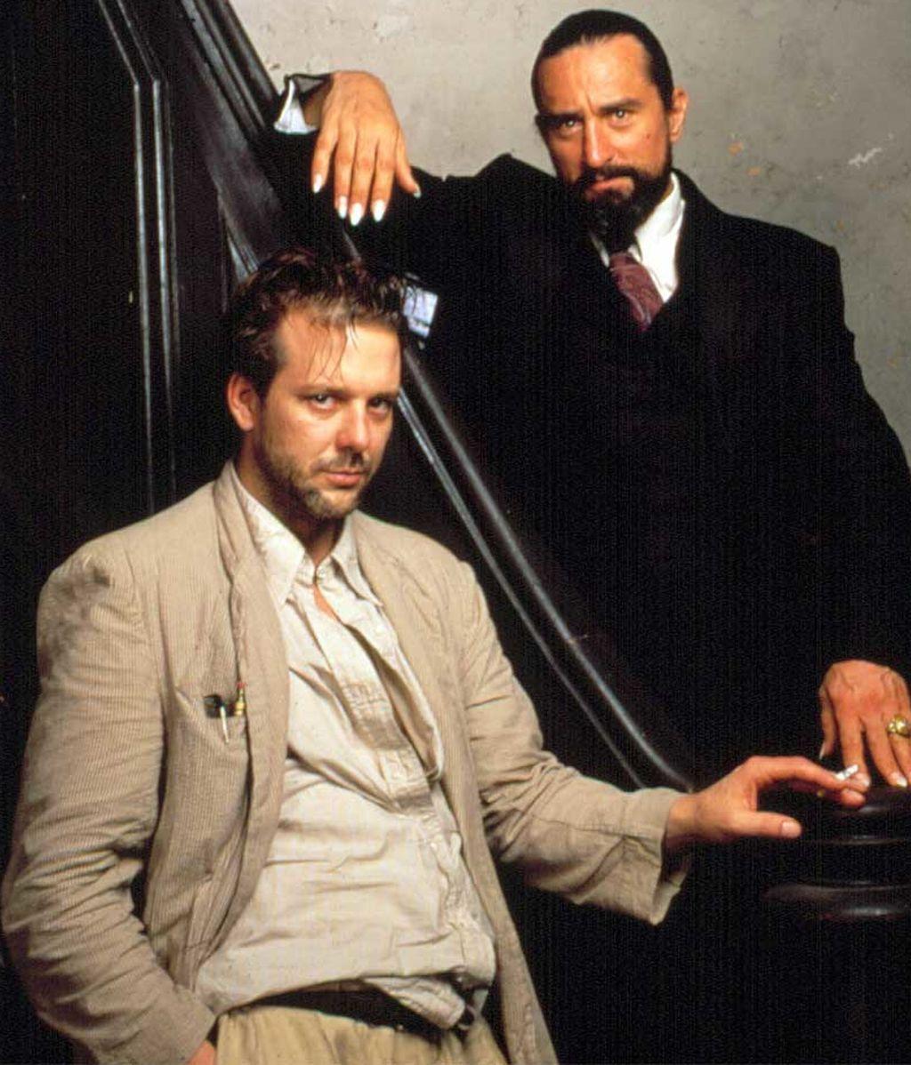 Mickey Rourke y Robert De Niro en 'El corazón del ángel' (1987)