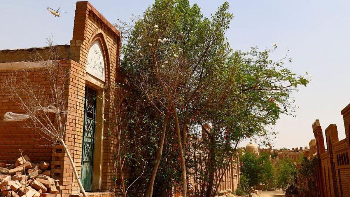 Imagen de archivo de un cementerio en Egipto