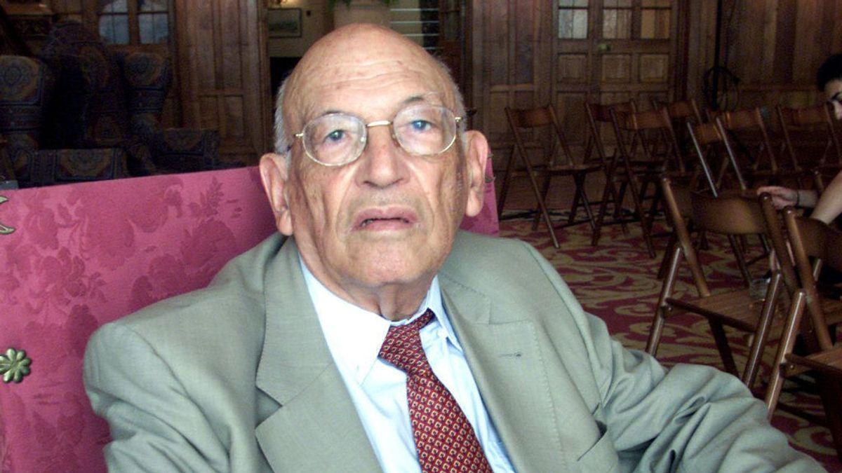 Muere a los 98 años el filólogo de la RAE Francisco Rodríguez Adrados