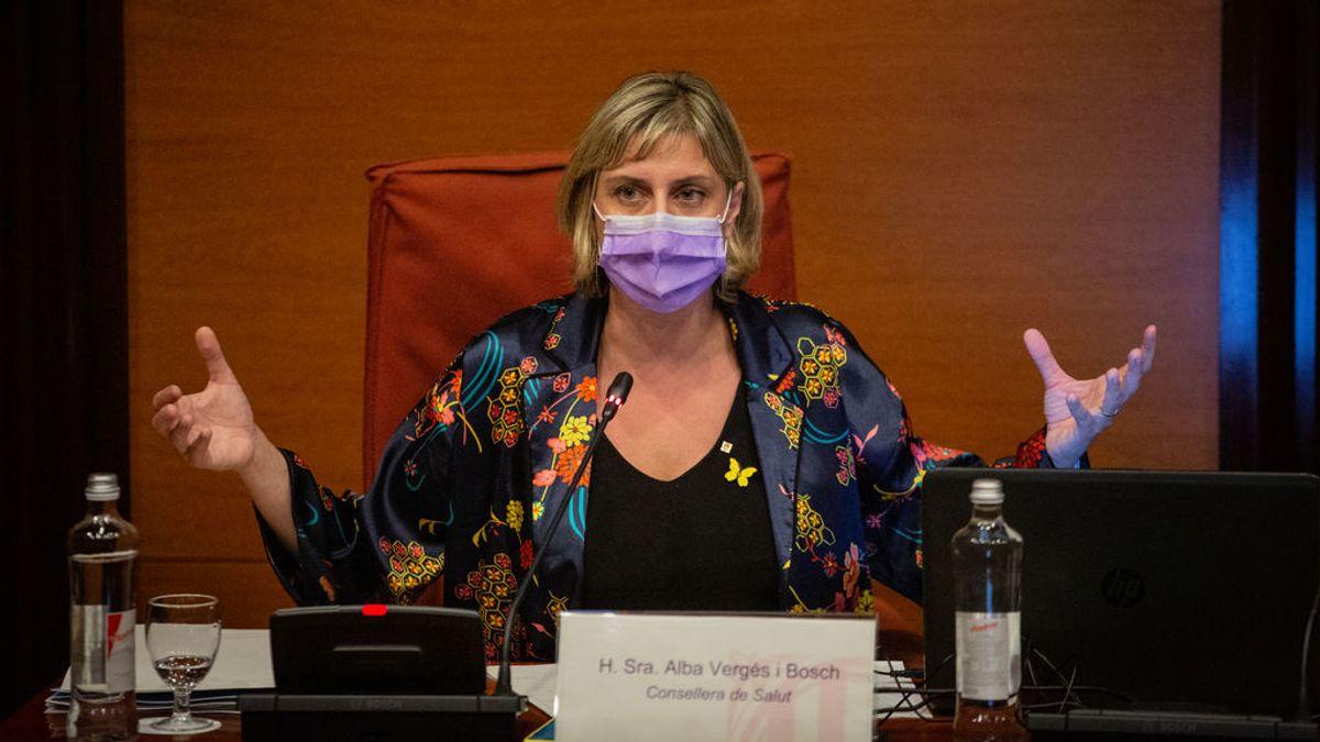 EuropaPress_3236526_consellera_salud_generalitat_alba_verges_comparece_parlament_catalunya