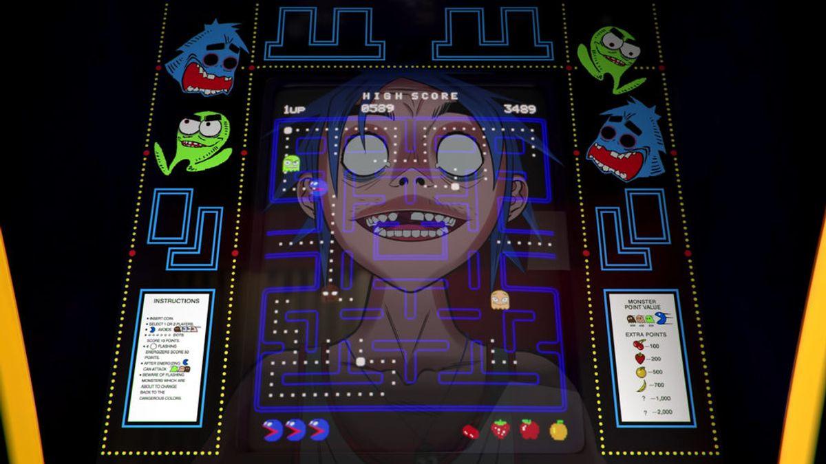 Gorillaz lanza la canción 'Pac-Man' con un videoclip homenaje al videojuego