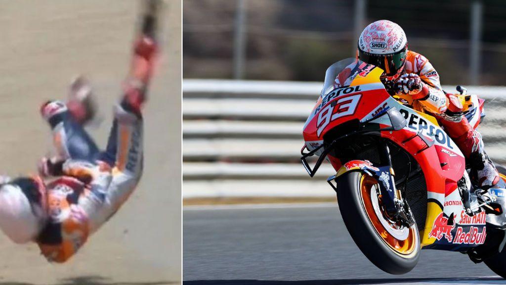 Marc Márquez, operado con éxito de su fractura en el húmero derecho tras la caída en Jerez