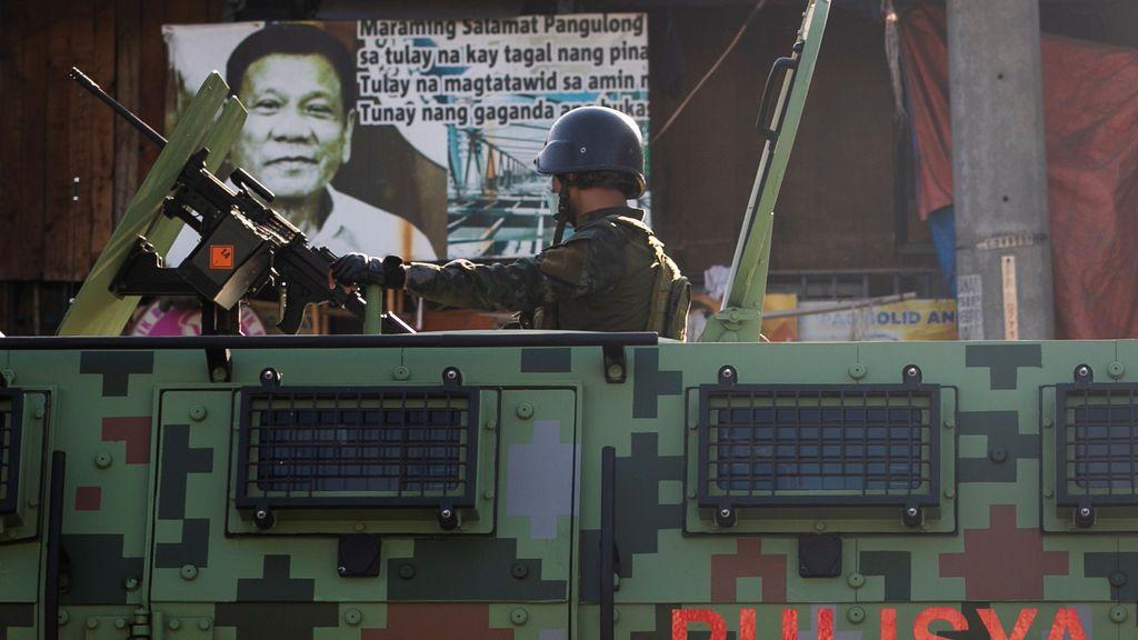 El presidente de Filipinas ordena detener  a todos los que no lleven mascarilla