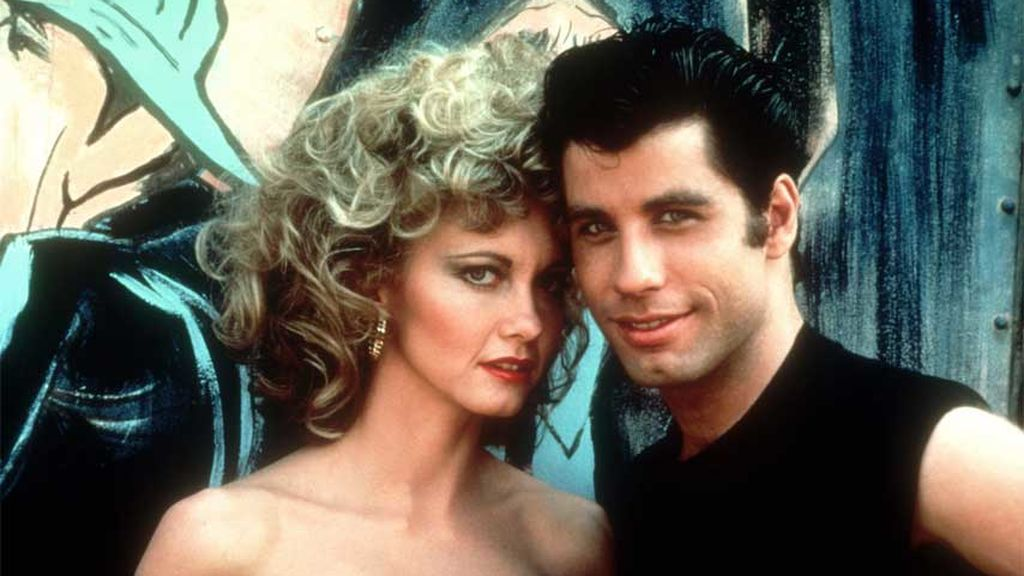 Olivia Newton-John y John Travolta, en 'Grease' (1978)