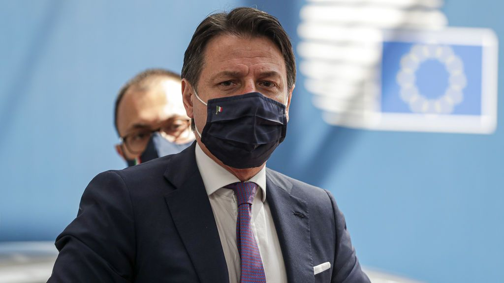 """Conte: """"Es un momento histórico para Europa y para Italia"""""""