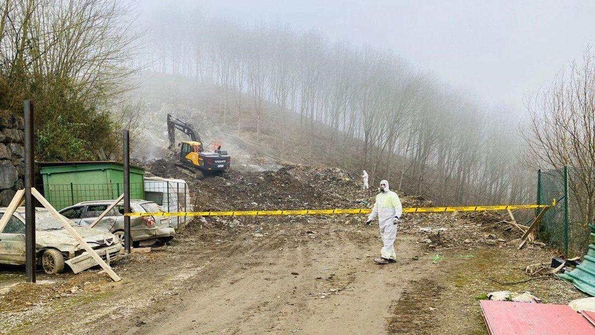 La Ertzaintza detiene a los responsables del vertedero de Zaldibal
