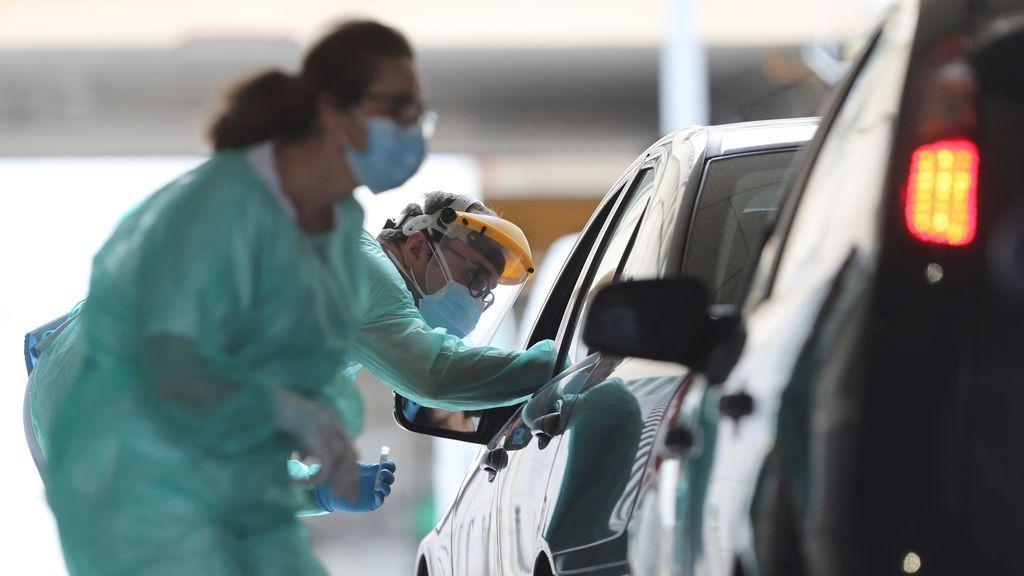 España registra un nuevo máximo de casos con xxx nuevos