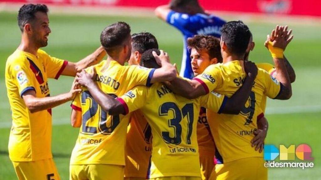 Celebración del Barcelona