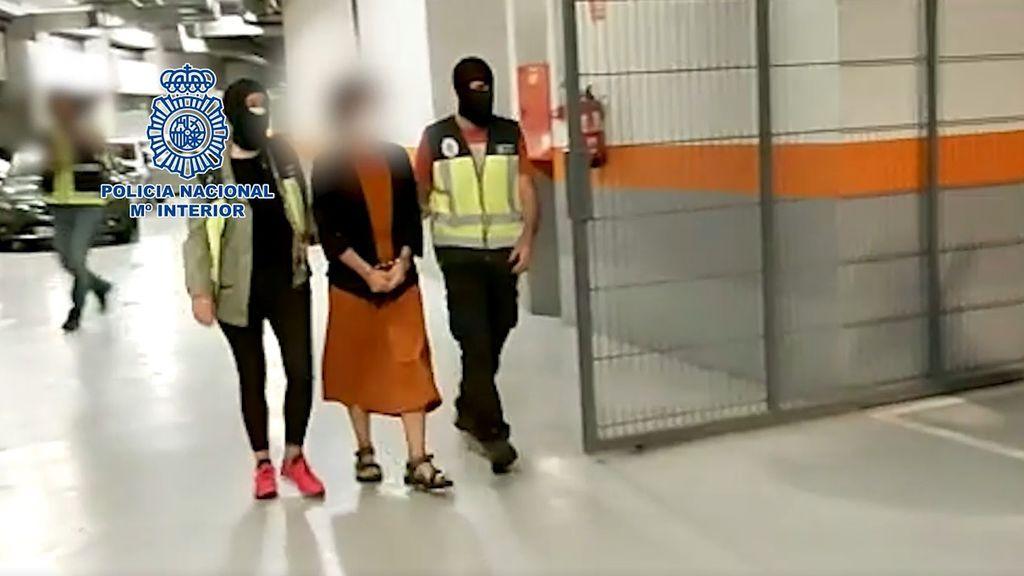 La Policía Nacional detiene en Hernani a la expresa de ETA Miren Itxaso Zaldua Iriberri