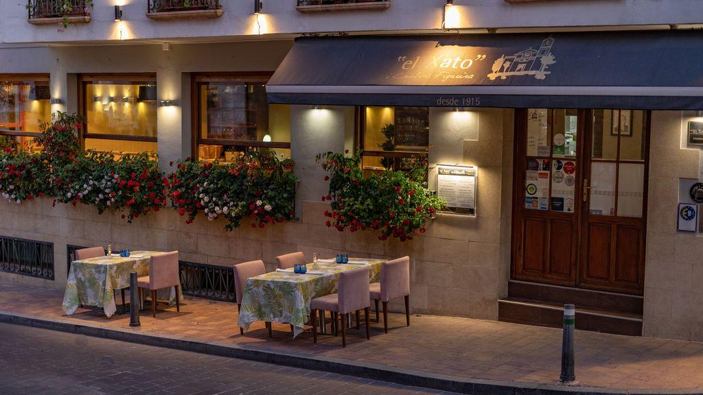 """Exterior del restaurante """"el Xato"""" en la localidad de La Nucía"""