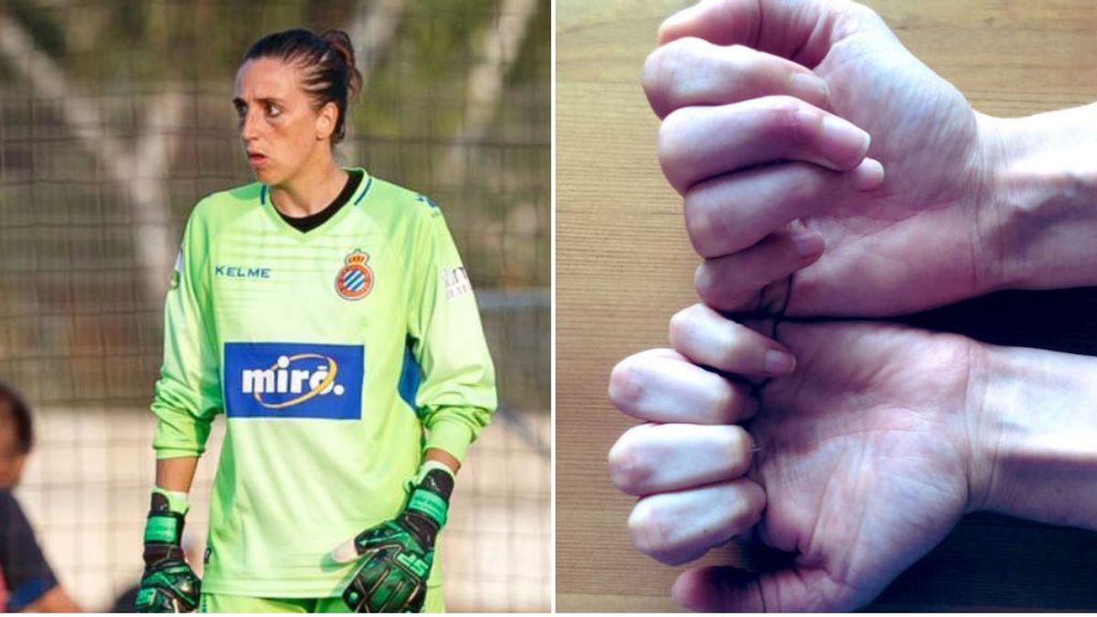 El Espanyol rescinde el contrato de la jugadora Mariajo Pons tras una lesión que le ha dejado un 20% de movimilidad en una mano