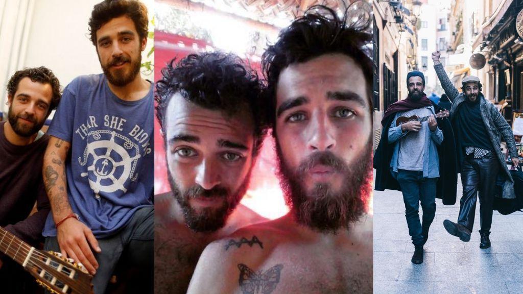 Jaime y Marcos, así son los hijos mochileros y bohemios de José Manuel Soto