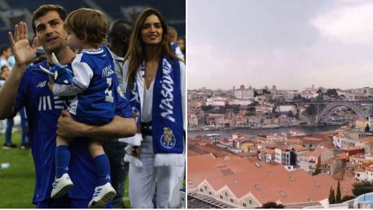 Iker Casillas y su familia se 'despiden' de Oporto con una fiesta sorpresa: juntaron a sus amigos en un conocido hotel