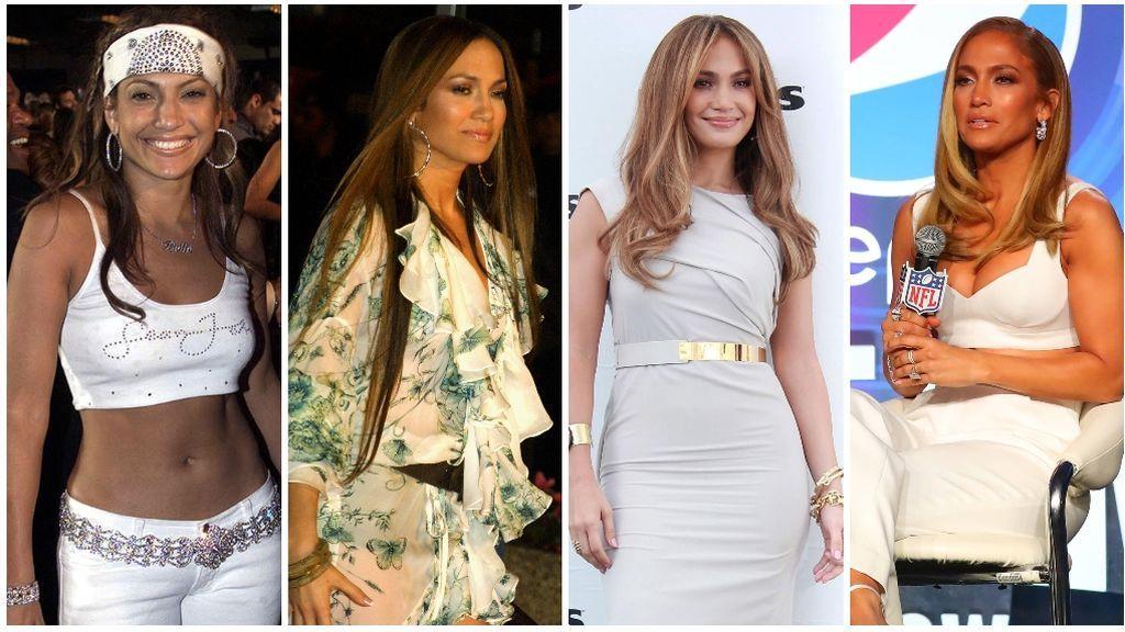 Jennifer Lopez: cómo hemos cambiado. Con 50 mejor que con 30 :)