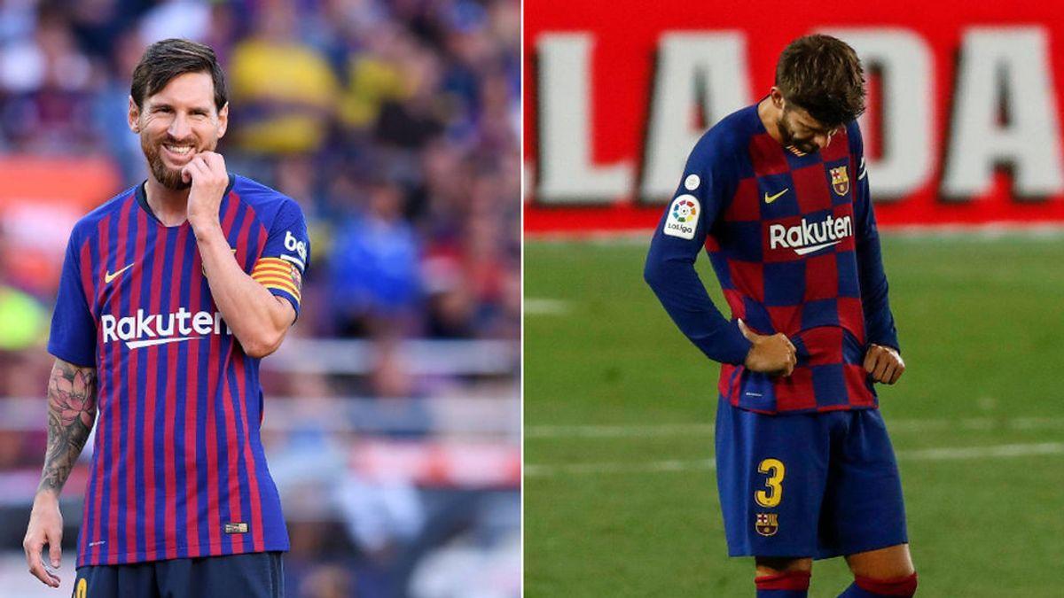 Messi, Ter Stegen, Suárez y Piqué, los primeros en coger vacaciones antes de la Champions