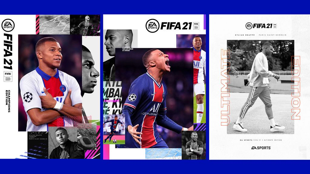 Portadas FIFA 21
