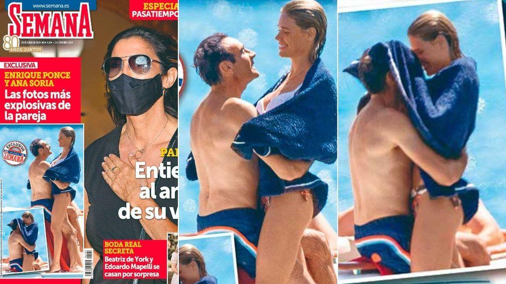 Las vacaciones de Ana y Enrique