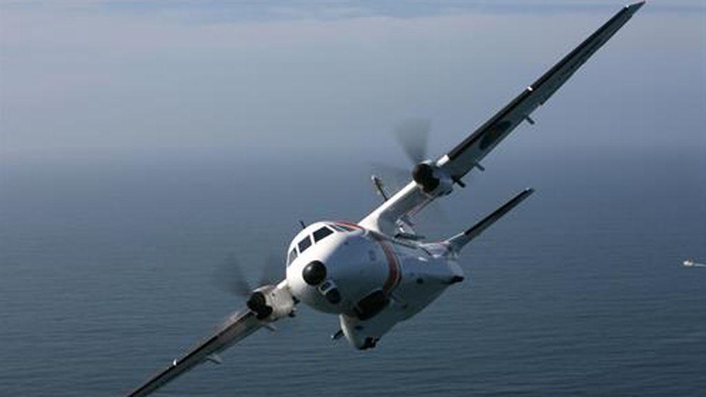 Un avión de Salvamento Marítimo