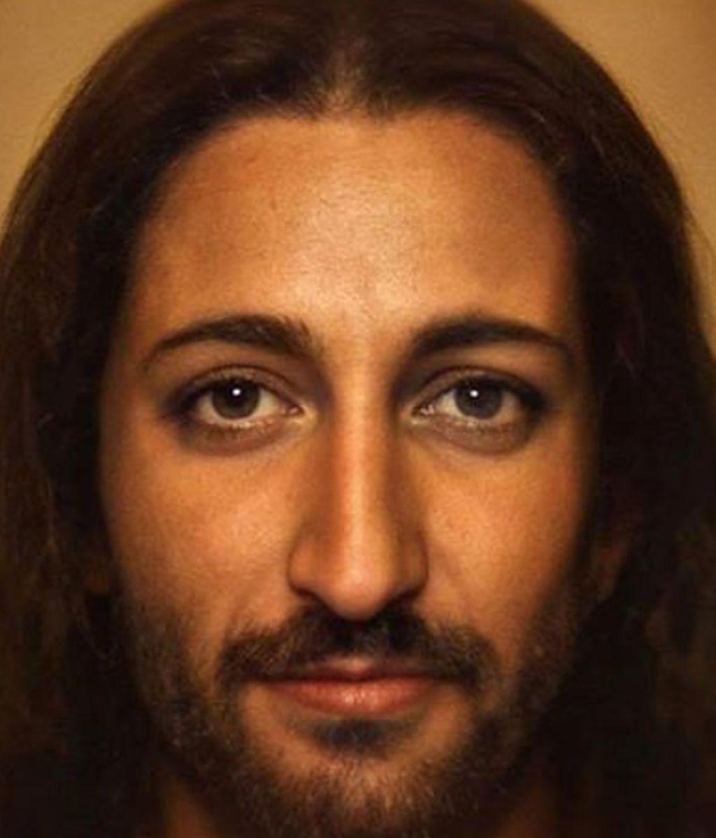 El retrato hiperrealista de Jesucristo que ya genera parecidos razonables en redes