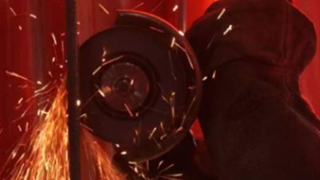 Proteus: el material artificial imposible de cortar con una radial mucho menos pesado que el acero