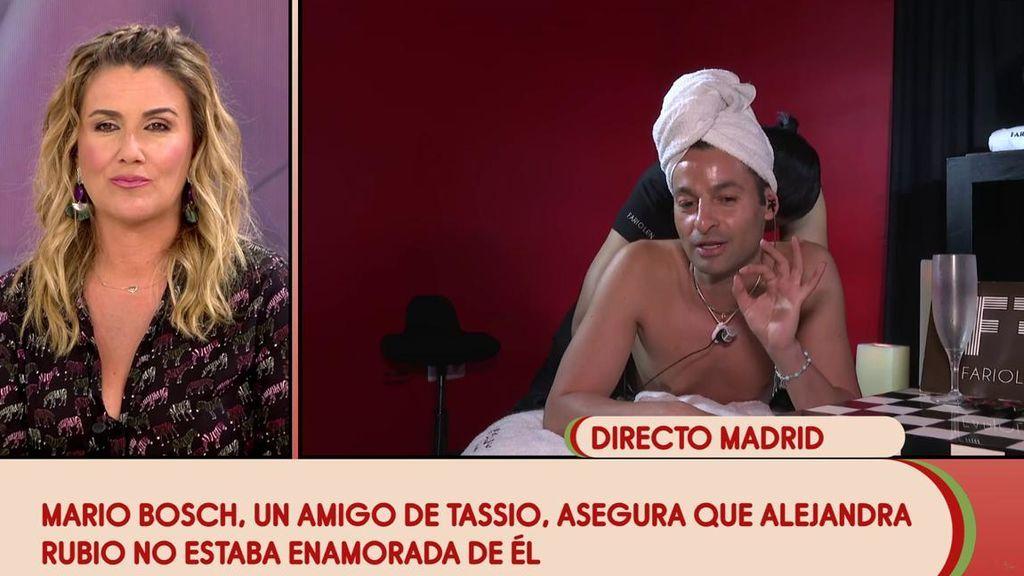 Un amigo de Tassio desvela los motivos de su ruptura con Alejandra Rubio: su exnovia