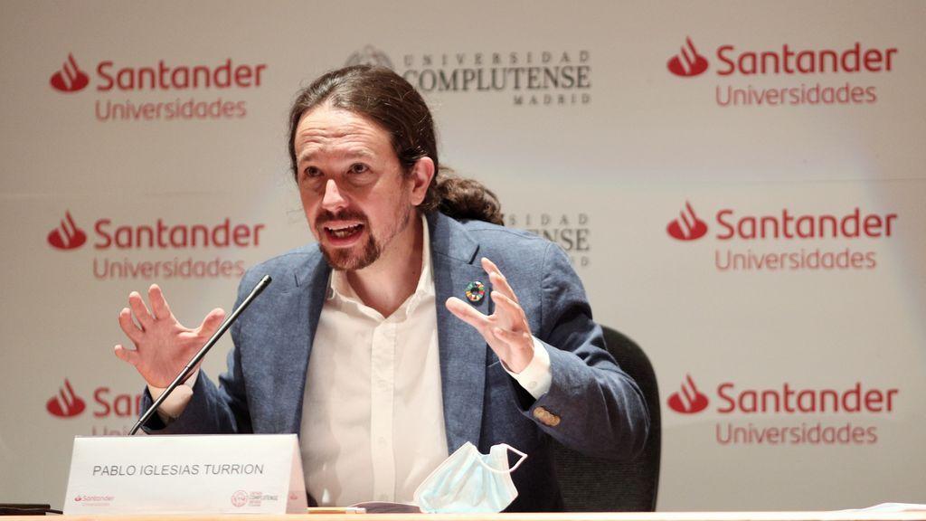 "Iglesias califica a Felipe González como ""abierto opositor"" al Gobierno actual"
