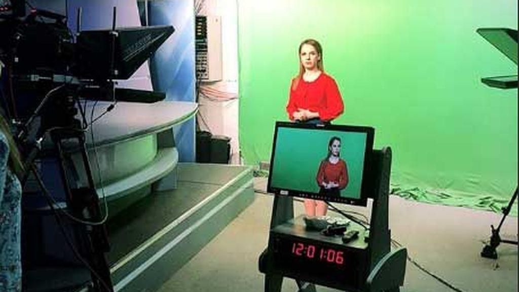 Nadezhda Zhúkova,  de enfermera a presentadora del tiempo