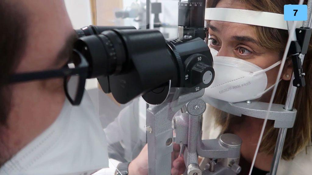 """Toñi Moreno se somete a una revisión oftalmológica: """"Voy a hacerme unas pruebas"""" (1/2)"""