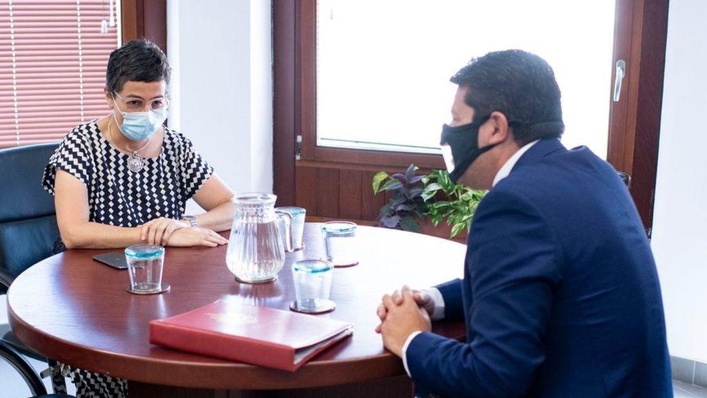 González Laya se reúne con el ministro principal de Gibraltar con motivo del Brexit