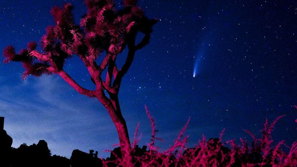El cometa Neowise estará más cerca que nunca de la Tierra este jueves