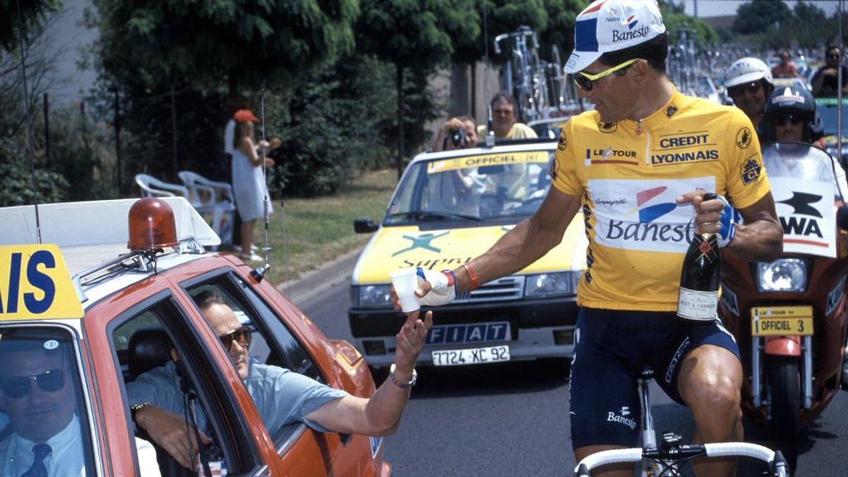 Se cumplen 25 años de la quinta y última victoria de Miguel Induráin en el 'Tour': cuando ganar implica sufrir